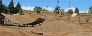Dirt biking image