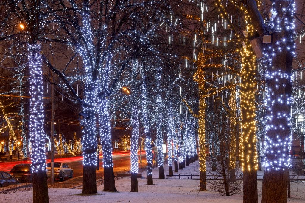Denver Christmas Lights Image